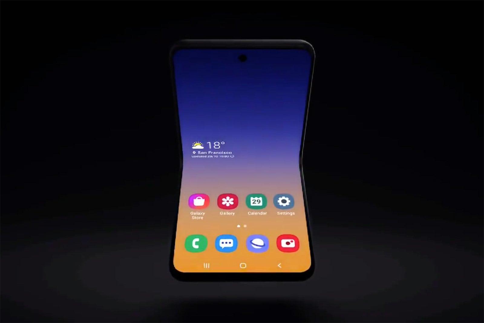 Samsung cu clapeta