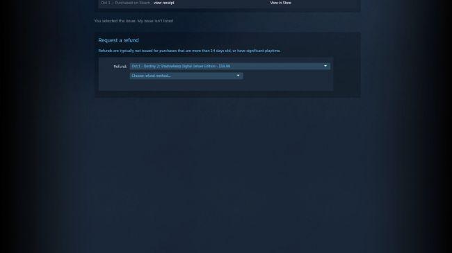 cum sa returnezi un joc Steam