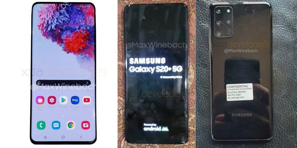 Galaxy S20 imagini live