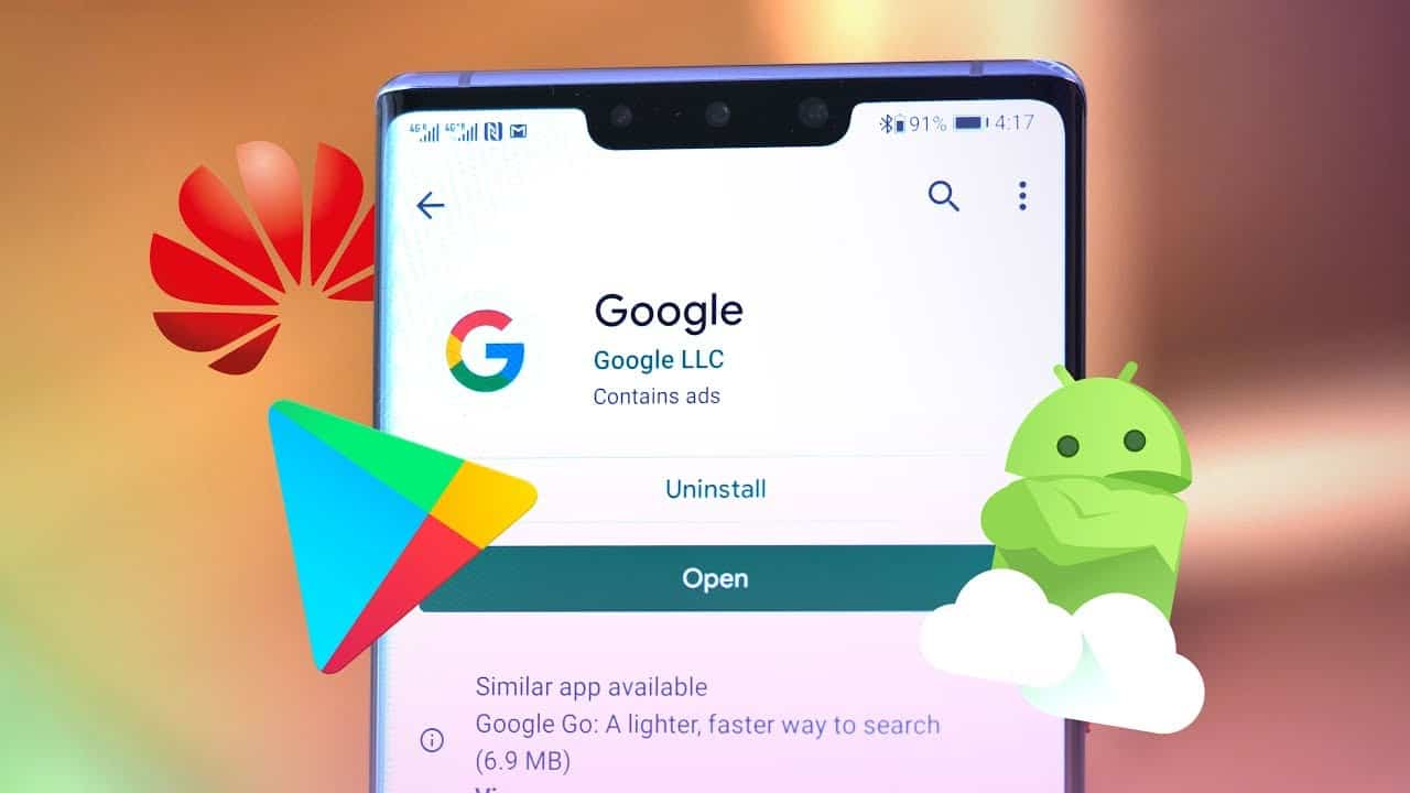 Google pe Huawei Mate 30 Pro