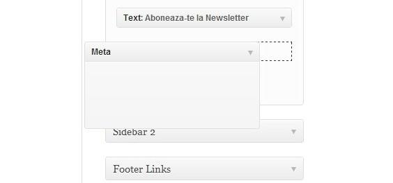 meta log in or log out widget min