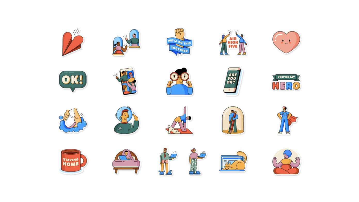 WhatsApp lanseaza stickere