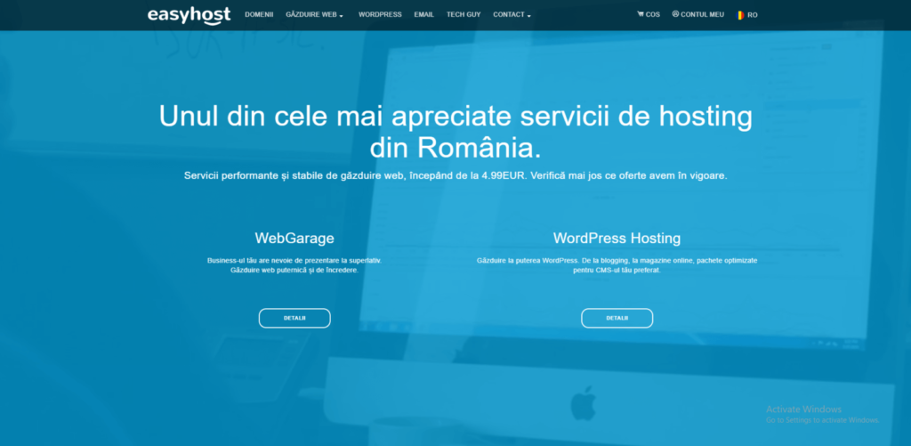hosting romania