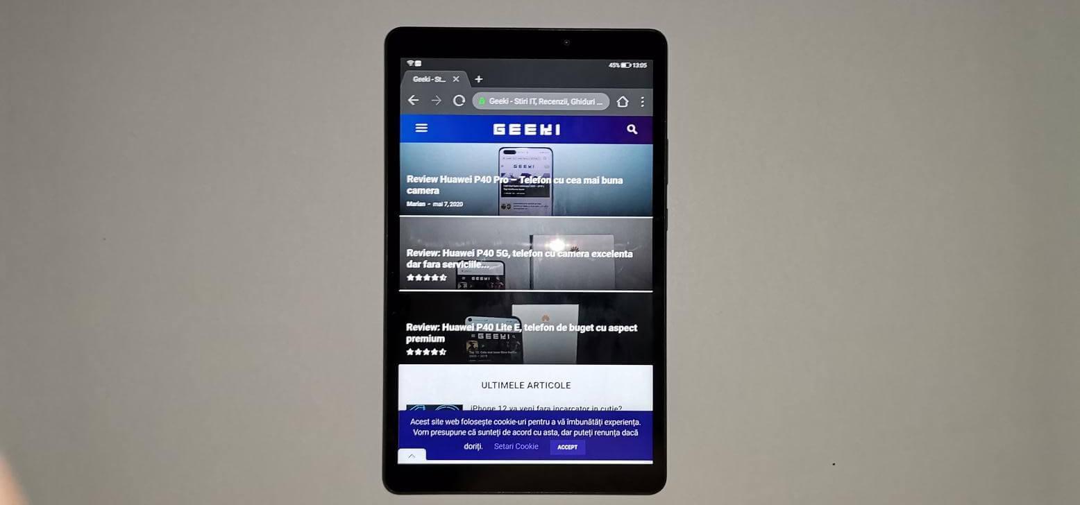 Review Huawei MatePad T8