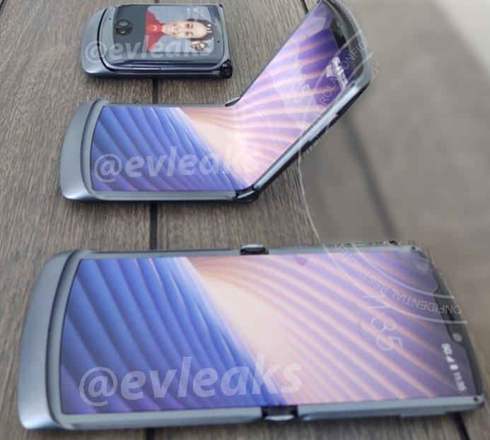 Primele imagini si detalii despre Motorola Razr 2020