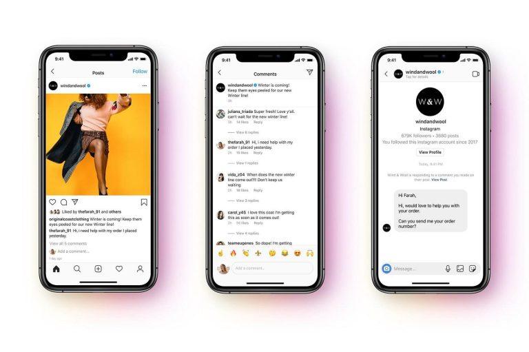 API-ul Messenger este acum disponibil pe Instagram