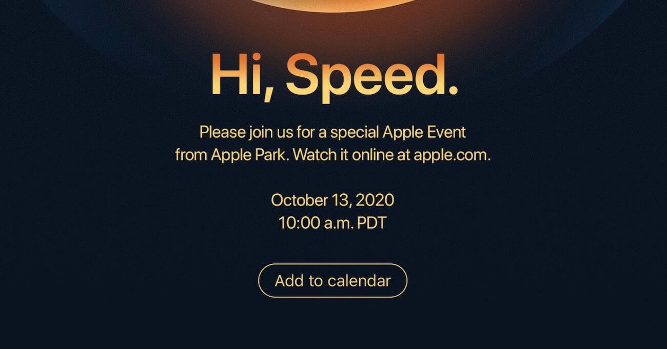 apple keynote iphone12