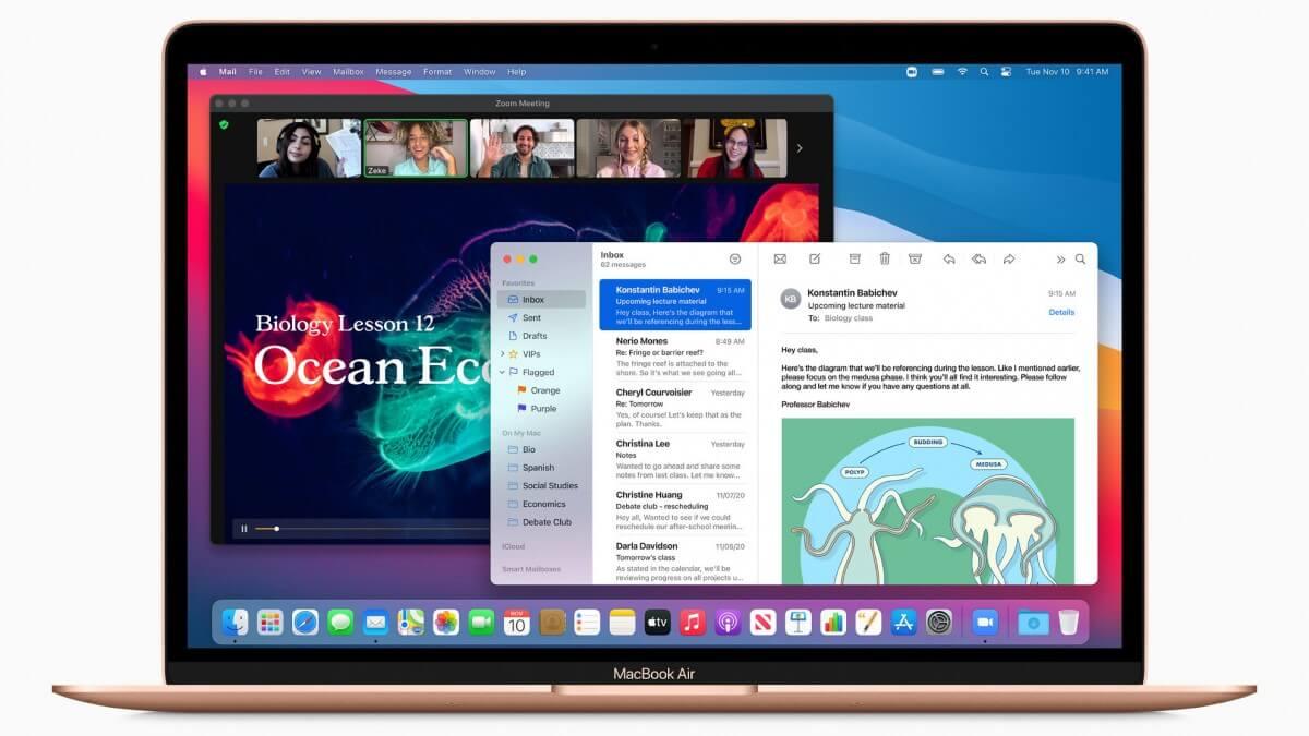 macOS Big Sur va fi disponibil incepand cu 12 noiembrie