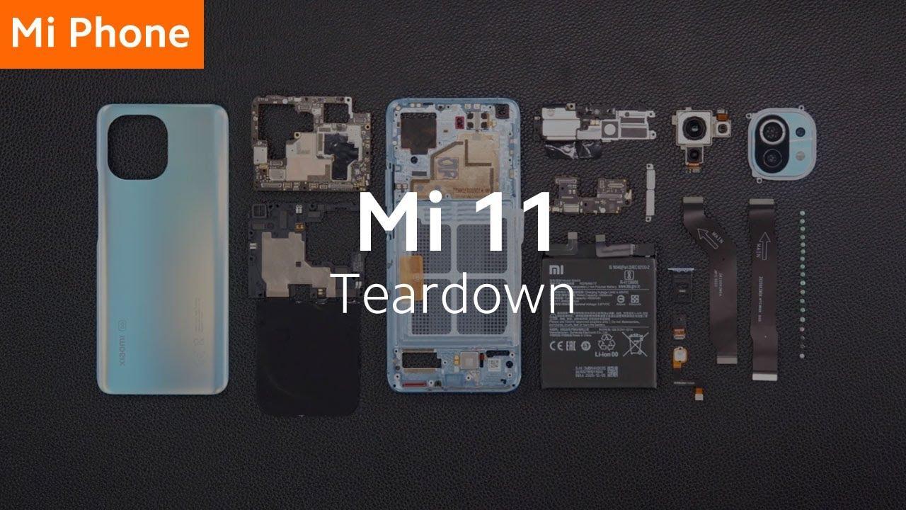 Xiaomi Mi 11 din interior
