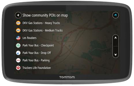 Sistem de navigatie GPS TomTom GO Professional 620