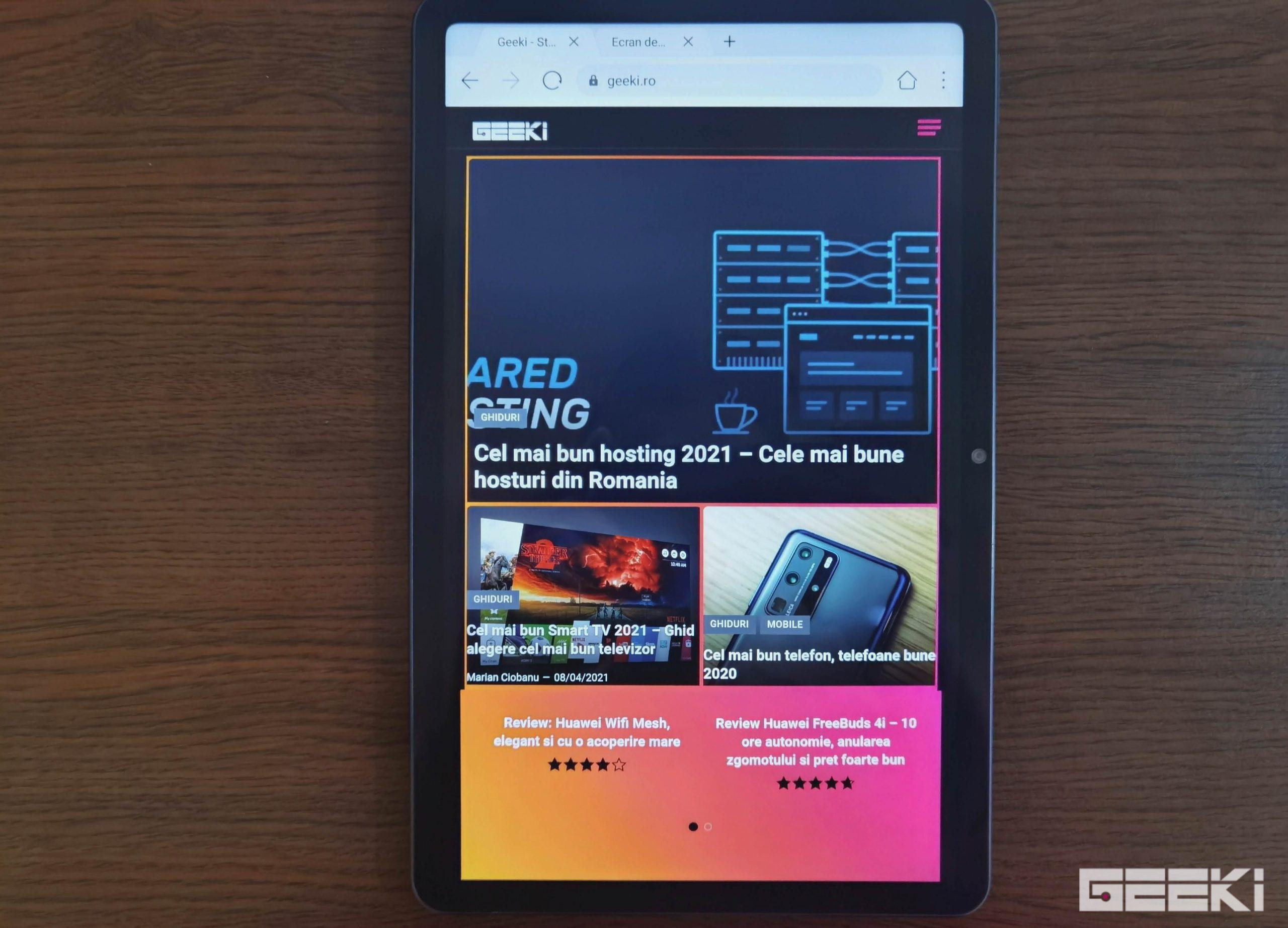 Review Huawei MatePad 10.4 (2021)